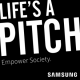 Rehago | Logo Life's a Pitch by Samsung